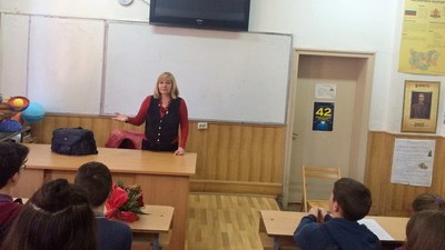 """""""Майки срещу дрогата"""" - СУ """"Св. Паисий Хилендарски"""" - photo#5"""